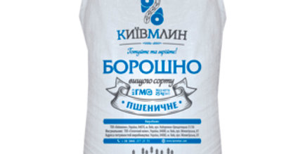 Борошно пшеничне вищий гатунок Київ Млин по 25 кг