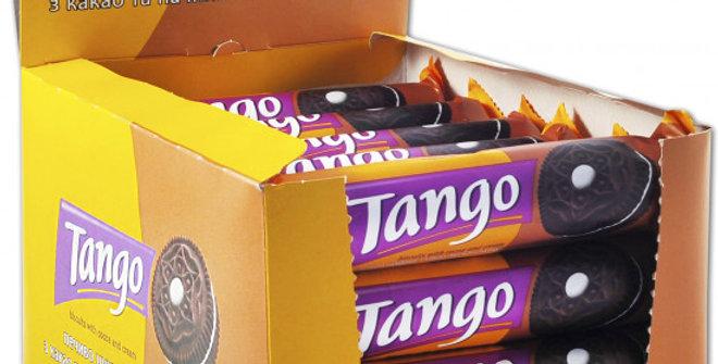 Печиво Танго Полуниця 75 гр (24 шт уп.)