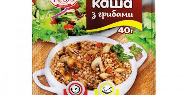 Каша Козуб гречана в асорт 40 г / 12 шт