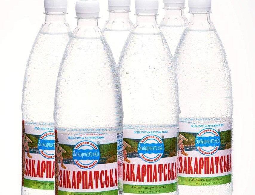 Вода Закарпатська негаз - 1,5 л
