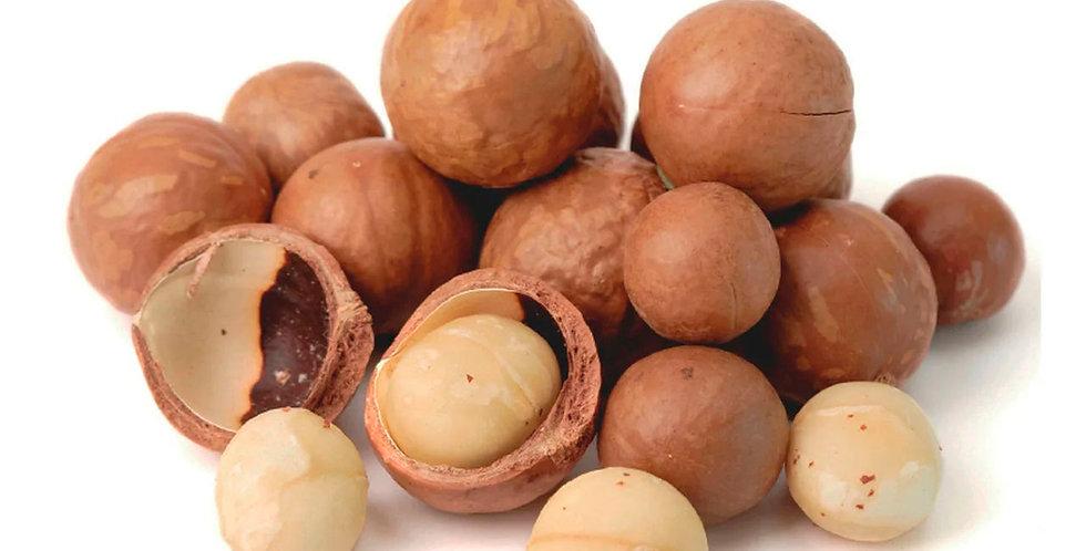 Макадамія горіх в шкаралупі сирий нечищений 200гр