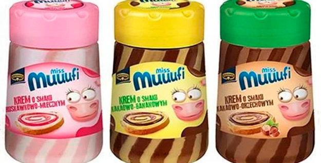 Шоколадно-фруктова паста Miss Muuufi 400г