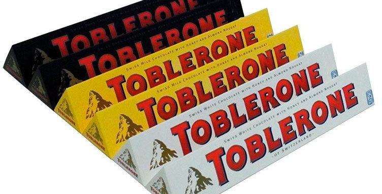 Шоколад Toblerone в асортименті 100г
