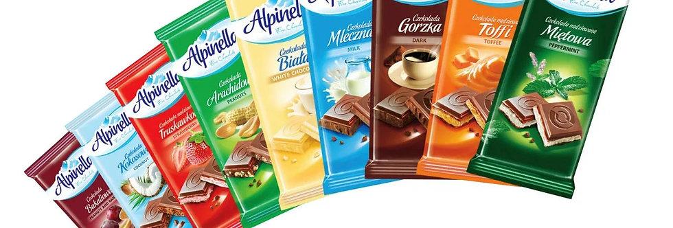 Шоколад Alpinella 100г