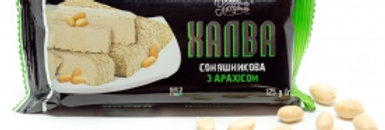 Халва ТМ Добрим Людям з арахісом 125г 30 шт / уп