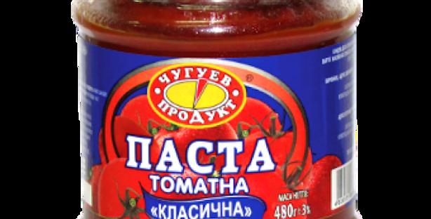 Паста томатна Чугуїв 0,460 г