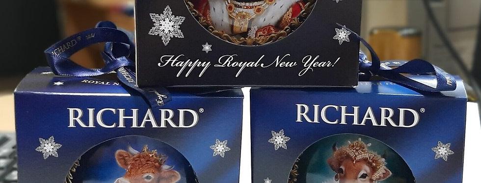 Чай чорний / Новорічна іграшка ТМ Richard
