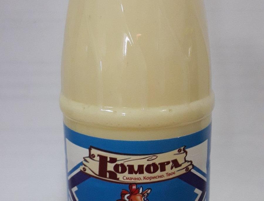 Молоко згущене в пляшці ТМ Комора, 450г