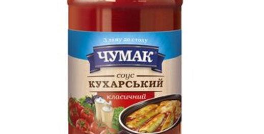 """Чумак Соус """"Кухарський класичний"""", ст / б 450г"""