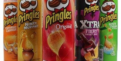 Чіпси Pringles 158г в асортименті.