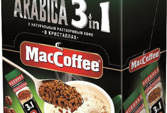 Maccoffee Arabica 3 в 1, 20 стиков