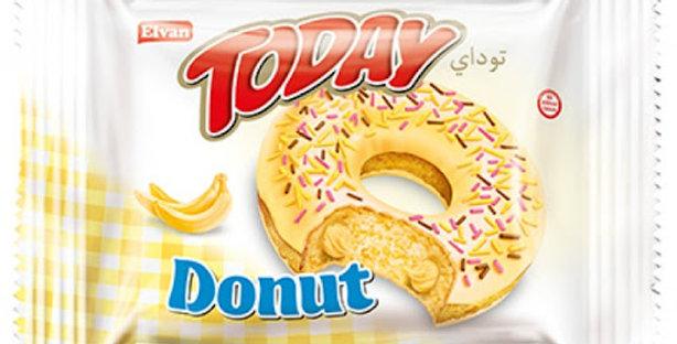 Кекс ELVAN DONUT TODAY Банан 50 г