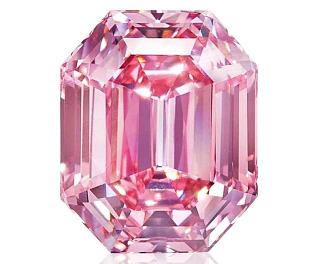 19 Karatlık Pink Legacy adlı yüzük