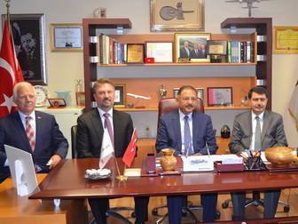 Çevre Ve Şehircilik Bakanı Mehmet Özhaseki Ve İstanbul Valisi Vasip Şahin Kuyumcukent'i Ziyaret Etti