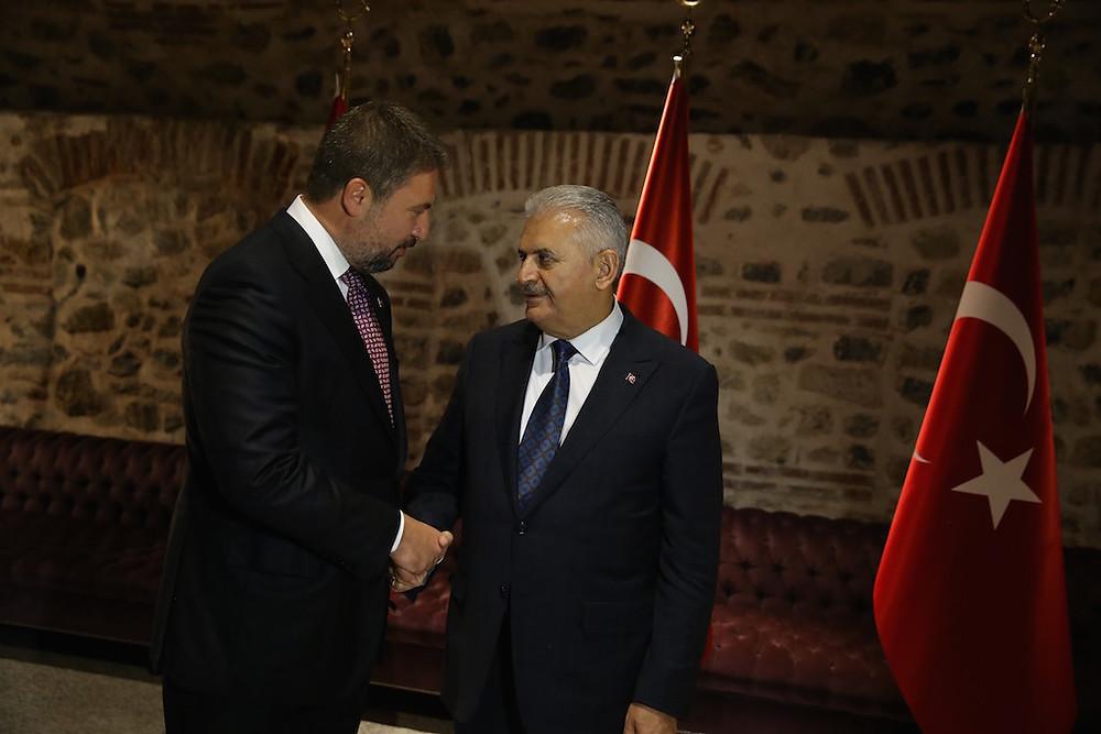 Başbakan Binali Yıldırım ve Av. Özcan Halaç