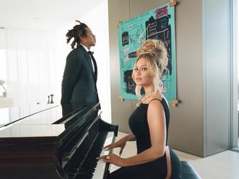 Beyonce ve Jay-Z Tiffany'nin Yeni Yüzü