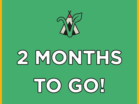 2 MONTHS UNTIL Vegan Camp Out 2021 😍😍