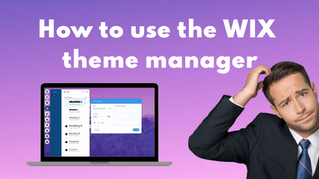 How to use the Wix Theme Manager