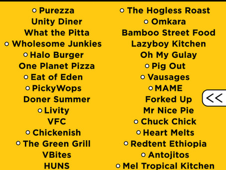 Entire 2021 food line-up announced! 🍕