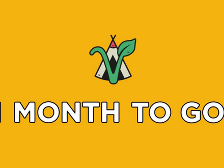 4 WEEKS TO GO! 🥳
