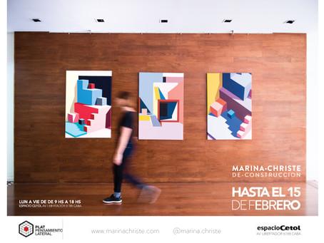 LA MUESTRA DE-CONSTRUCCION SE  EXTIENDE HASTA EL 8 DE MARZO 2019