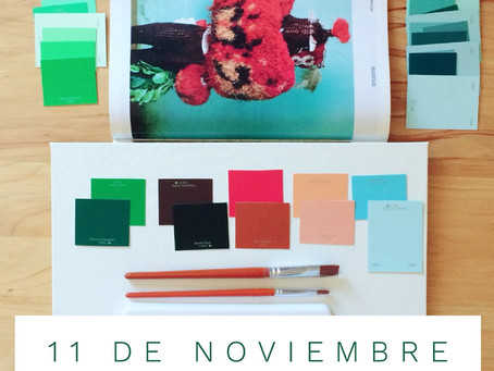 11 DE NOVIEMBRE : WORKSHOP COLOR ·PALETA·