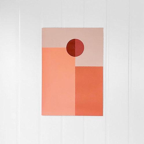 """Pintura """"CONFIGURACIONES 5"""" 35x50cm"""