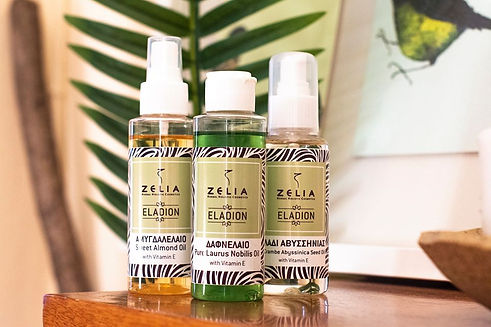 Three good natural oils from Zelia Cosmetics