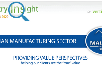 Q3 Industry Update - Canadian Manufacturing Sector