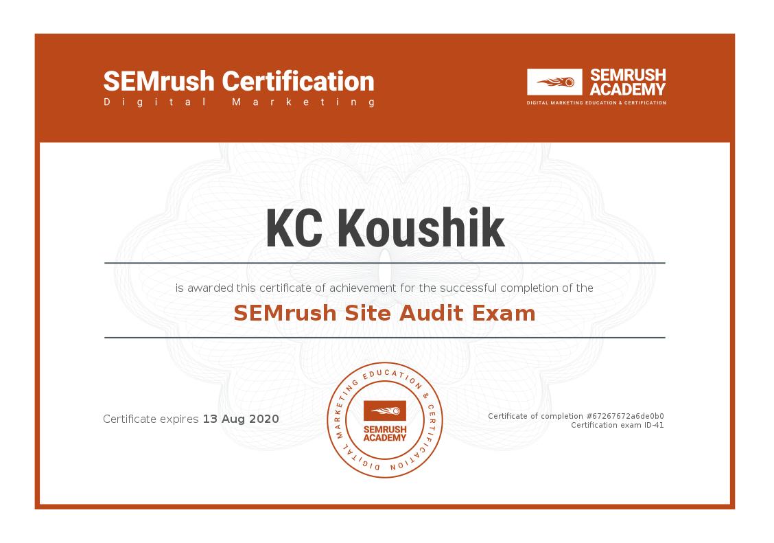 SEMrush Academy Certificate.png