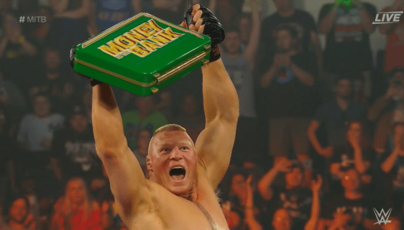 Lesnar is Mr. Money in the Bank -   now what?