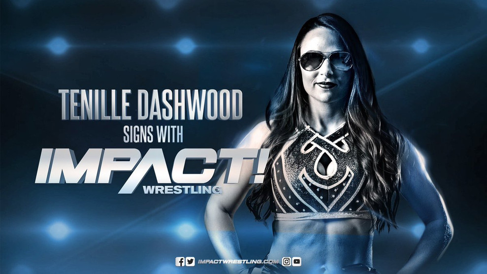 Tenille Dashwood signs with Impact