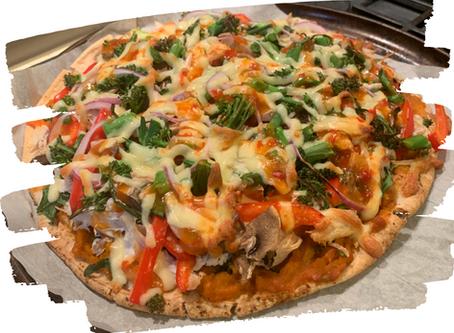 Chicken & Vege Pizza