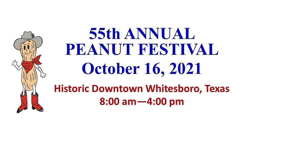 Volunteer Whitesboro - Peanut Festival