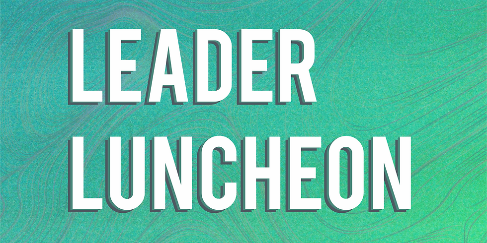 Leader Luncheon