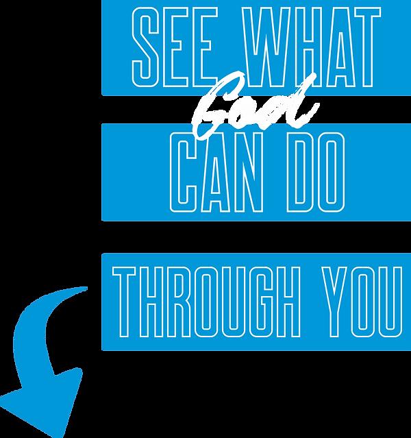 God can do through you.png