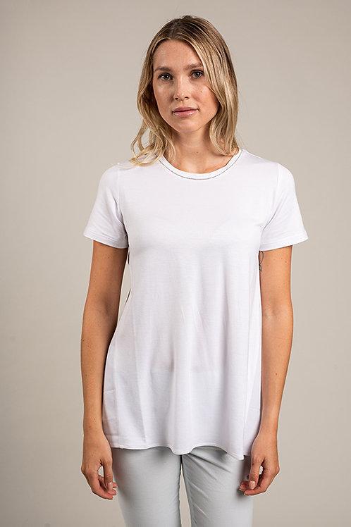 T-Shirt Viskose und Baumwolle