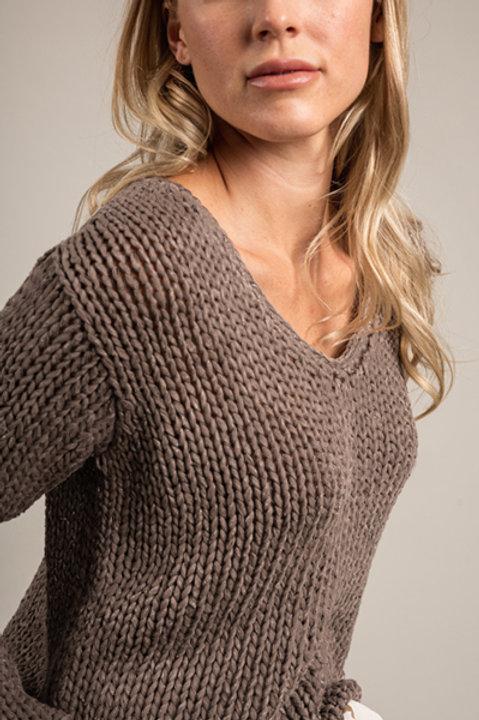 Pullover aus Baumwollbändern