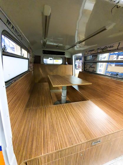Interieur VW busje