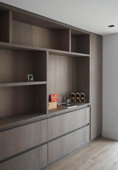 Compleet interieur woning | werkkamer