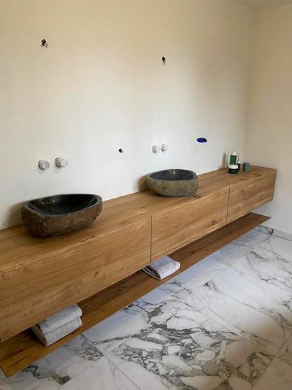 Badkamer meubel | Eiken hout