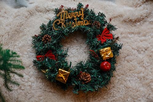 """Рождественский венок """"Merry Christmas"""""""
