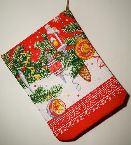 """Новогодний мешок """"Дед Мороз"""""""