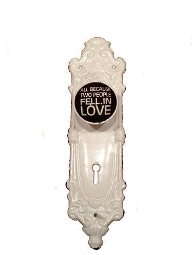 "дверная ручка ""Feel in love"""