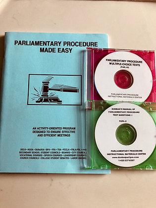 Parliamentary Procedure LDE Team Package