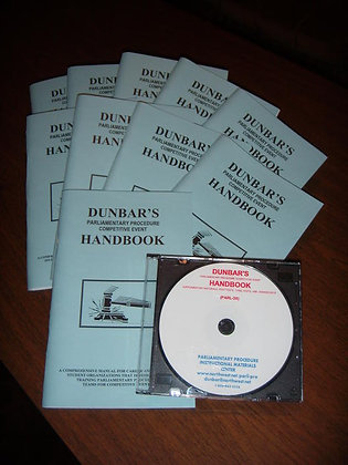 Dunbar's Competitive Event Handbook Package