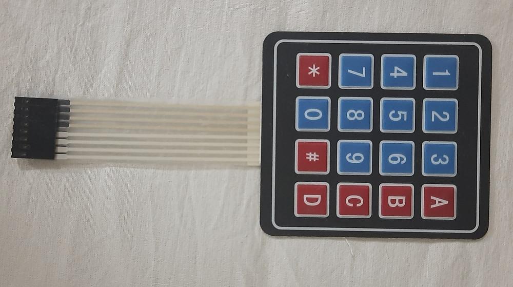 4 x 4 Keypad