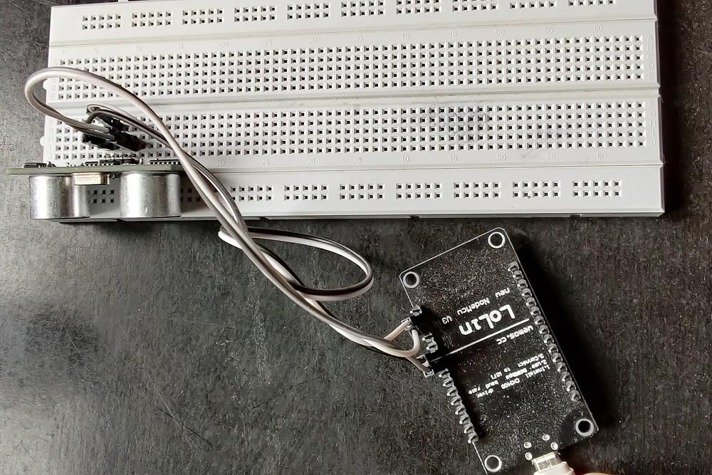 Circuit Design of Gmail alert using Esp8266