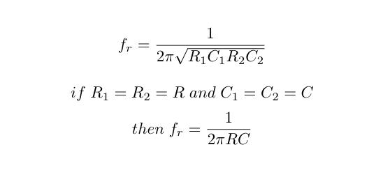 Frequency Calculation of Wein Bridge Oscillator