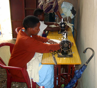 Sponsorship in Sewing/Knitting Skill Class